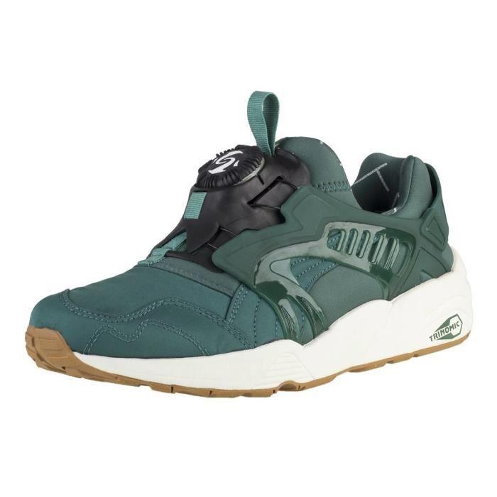 2e31647a8f3 Chaussures Puma Disc Blaze Basic Sport Blanc Blanc - Achat   Vente ...