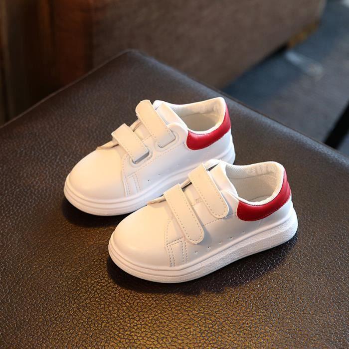 Baskets chaussures de sport décontractées pour enfants unisexe
