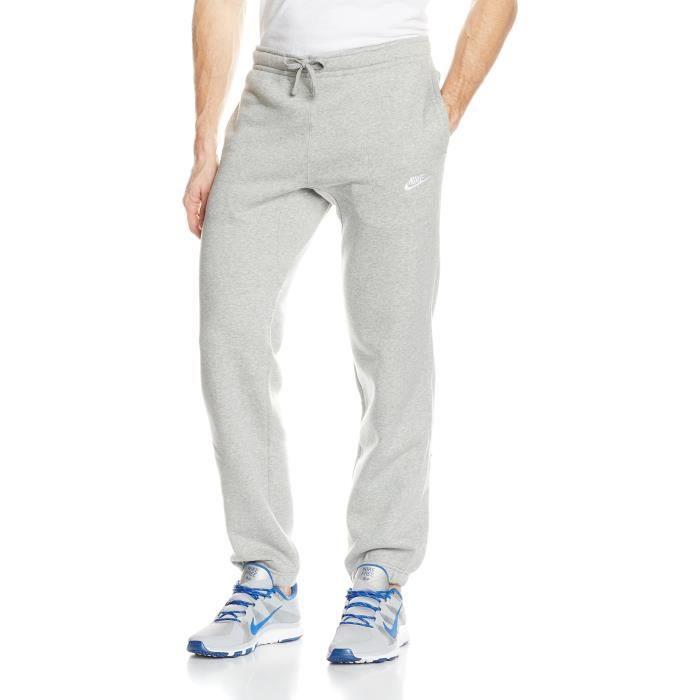 Nike Club Bas Jogging 3MY3UP Taille-S Gris Gris - Achat   Vente ... ba7ff30d7501