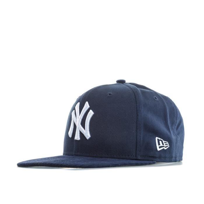 Casquette New Era New York Yankees Pour Homme En Bleu Bleu Bleu