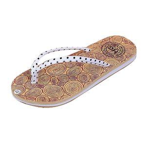 Femmes filles d'été vacances tongs sandales plates chaussures plage tongs chaussures @XYM80302903HOT U8Bt7n