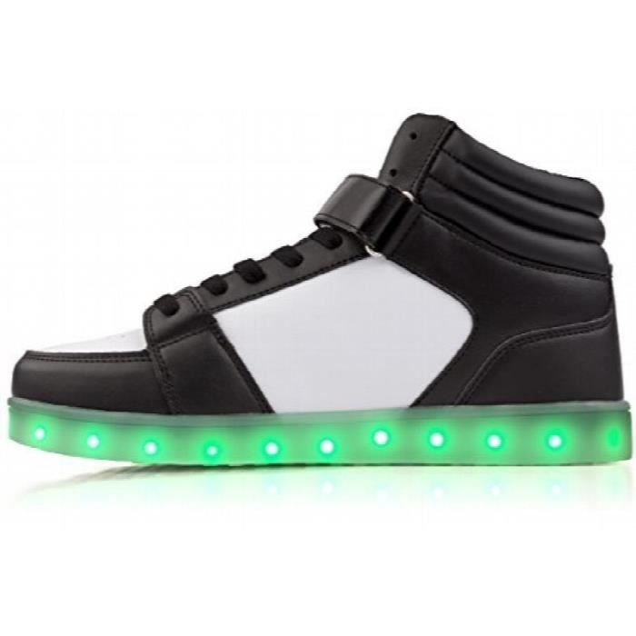 Electric Styles Light Up Chaussures - Baskets montantes GK80C Taille-37