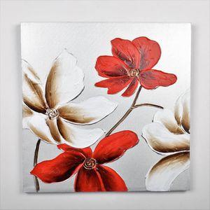 TABLEAU - TOILE Tableau déco Fleurs  127 -  Toile peinte à la main