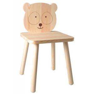 chaise chaise en bois pour enfant peindre 29 x 53 cm