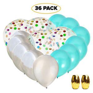 73c0db934260e CONFETTIS articles de fête tiffany blue de - 12x ballons tur
