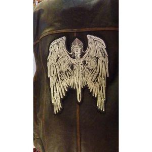 ACCESSOIRE CASQUE Grand patch, écusson dorsal thermocollant ailes gr