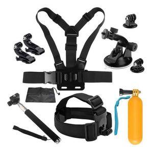 BRACELET FLOTTANT Kit Accessoires Caméra Sport 10-1 pour Gopro Hero