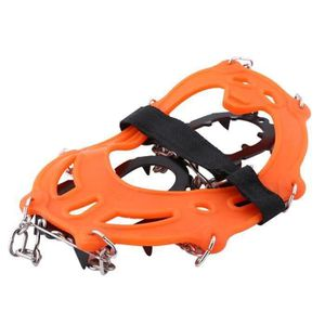 CRAMPON POUR GLACE 1 Paire14 Dents Grip Griffe Claws Outdoor Ski Rand