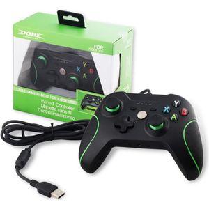 MANETTE JEUX VIDÉO Manette Xbox One Filaire Controleur de Jeux DualSh