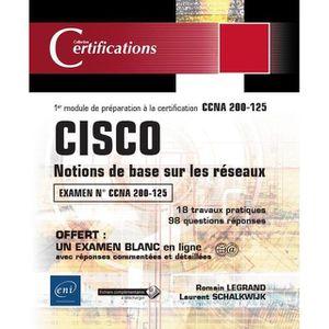 LIVRE TVCOMMUNICATION Livre - CISCO ; notions de base sur les réseaux ;
