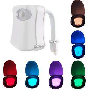 OBJETS LUMINEUX DÉCO  IMMIGOO-LED 8 Lampes en couleur Capteur de mouveme
