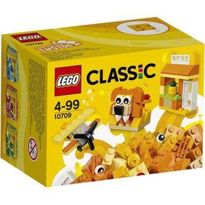 ASSEMBLAGE CONSTRUCTION LEGO® Classic 10709 Boîte de Construction orange