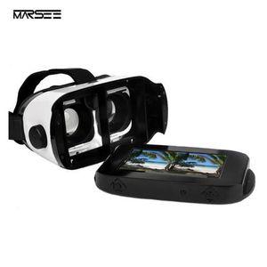 LUNETTES 3D Casque VR,Lunettes Réalité Virtuelle Headphone Hea