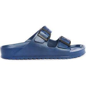 SANDALE - NU-PIEDS Sandale en cuir Arizona bleu marine Eva pour homme