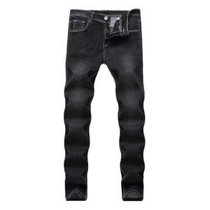 JEANS Jeans Homme Coupe Droit Casual Jean Élastique Mode