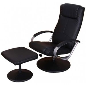 FAUTEUIL Fauteuil relax longue inclinable avec repose-pi...