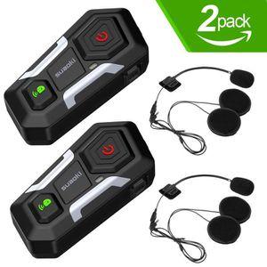 TALKIE-WALKIE SUAOKI T10 2 PCS Talkie-walkie Bluetooth 3.0, Casq