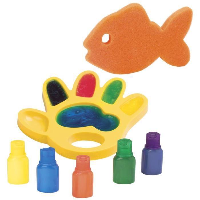 ALEX Jouet de bain - Peinture à main dans le bain