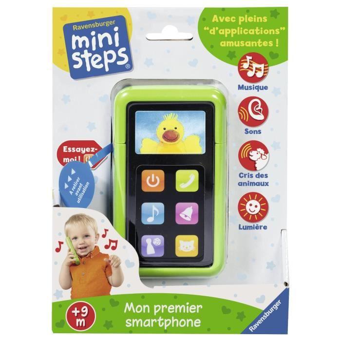 MINI STEPS Mon premier Smartphone (Jeu Educatif et Interactif)