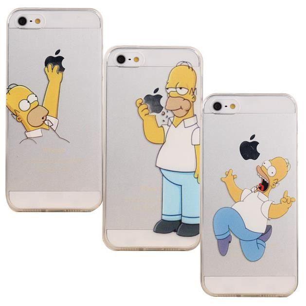 coque iphone 7 plus homer