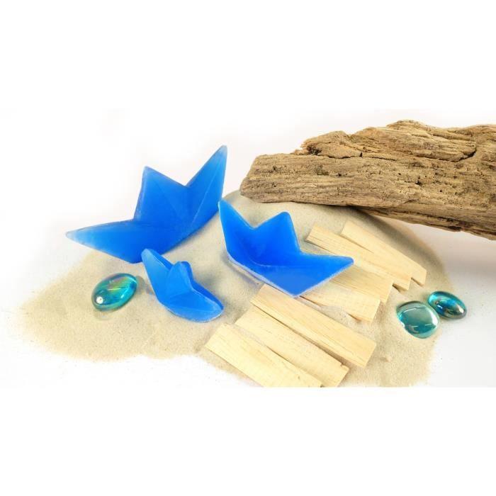 Moule à savon Moule pour savon Bateaux en Papier - Graine créati