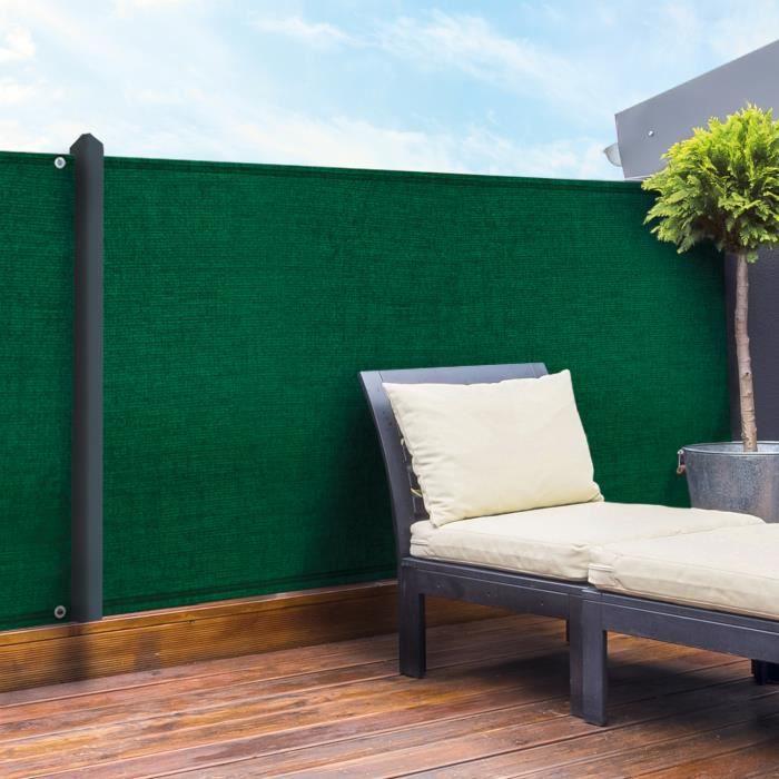 Brise vue vert 1 x 10 m 90 gr m² classique - Achat   Vente clôture ... 9cfba2795bb