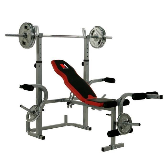 banc de musculation hammer bermuda xt pro 4508