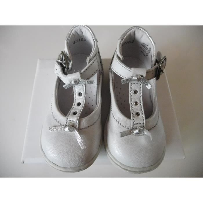 Little Mary -CHAUSSURES BLANC -taille 21