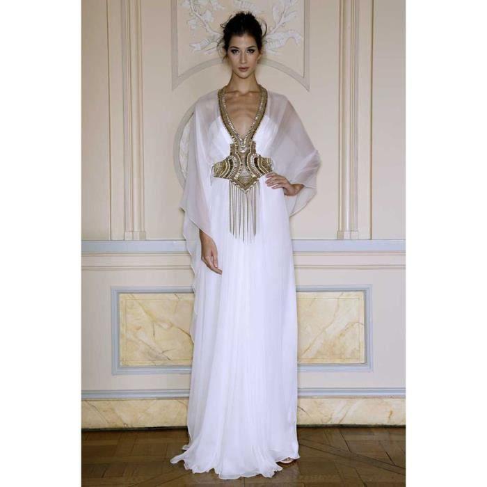 Arabe Caftan,robe de soirée orientale longue bleu col V manches cape  transparente princesse pour dubai,Marocain