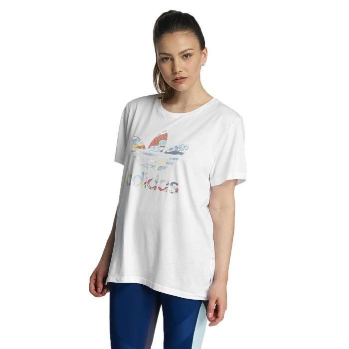 t-shirt boyfriend adidas femme