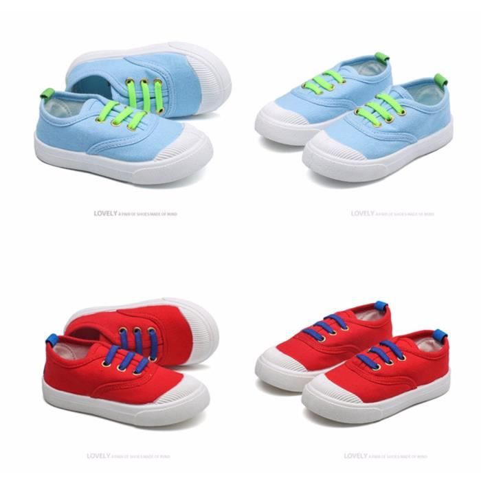 Casual Candy mode chaussures Sneakers enfant Bébé Canvas T8PHqAw