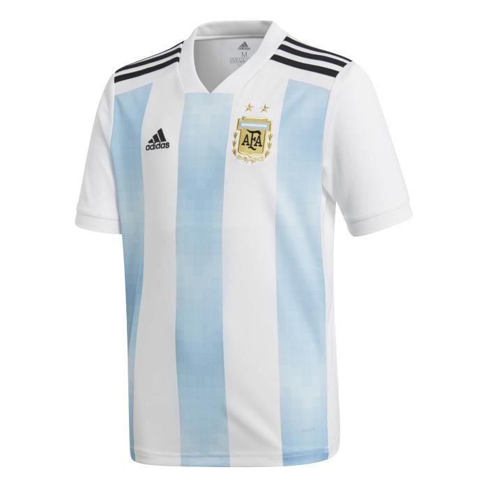 new york f6582 c87e6 Maillot enfant Adidas Replica Argentine Domicile FIFA World Cup 2018