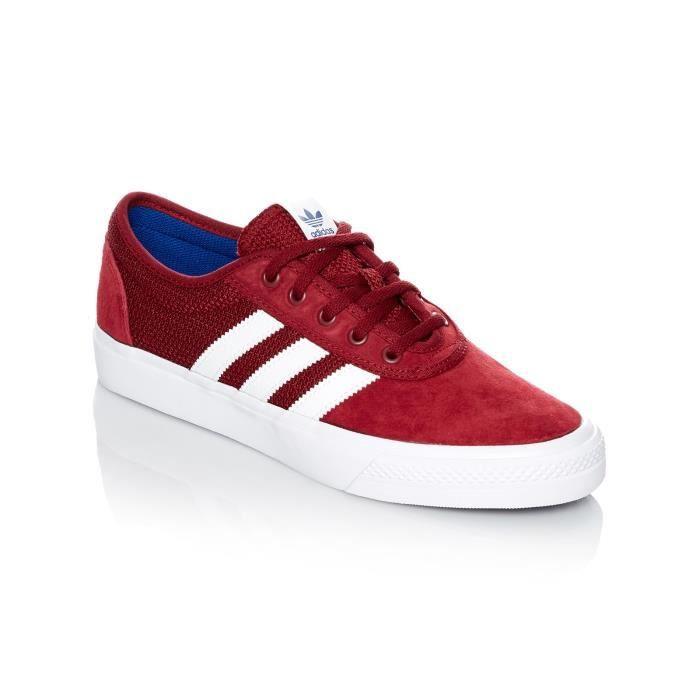 Chaussure Adidas Adi-Ease - Artist Collab Core Noir-Scarlet-Footwear Blanc Noir Noir - Achat / Vente basket  - Soldes* dès le 27 juin ! Cdiscount