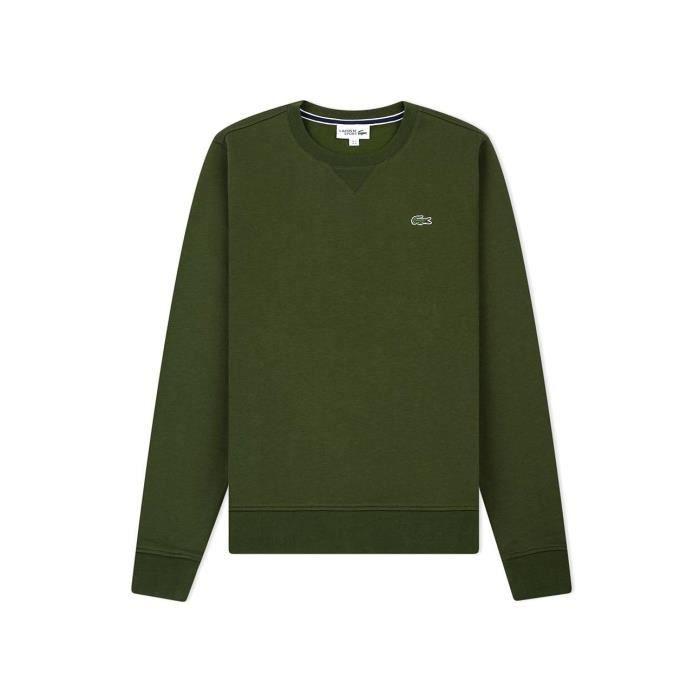 6c1ac64156 Sweat Lacoste Sport SH7613 Vert Vert Vert - Achat / Vente sweatshirt ...