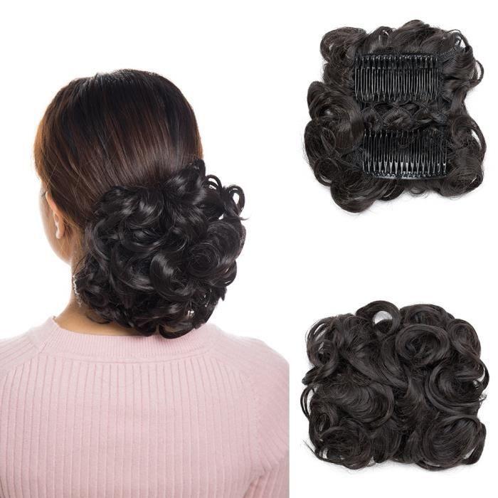 Extensions Chignon Postiche A peigne Cheveux