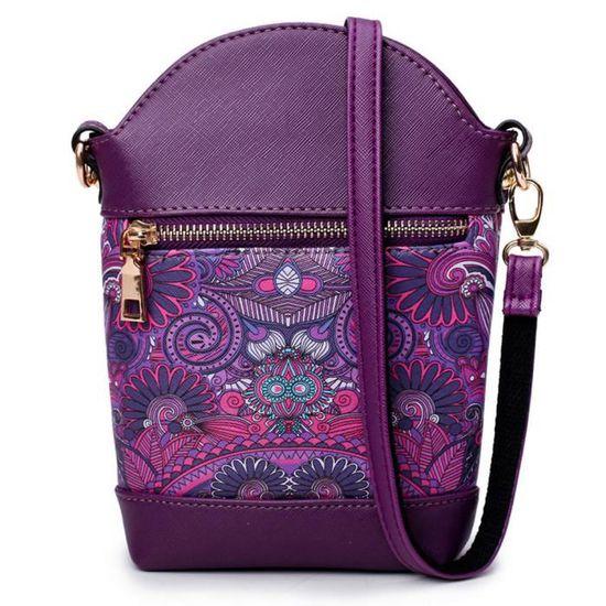 Violet Modèles Mini Reste Sac L12 sac Totem à Féminins Bandoulière 075 twwqZz0C
