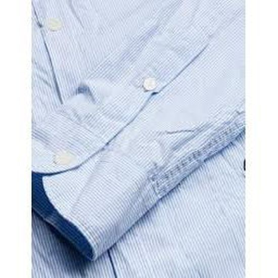 Replay Chemise Vente Bleu Achat Homme New ZxggdfSwq