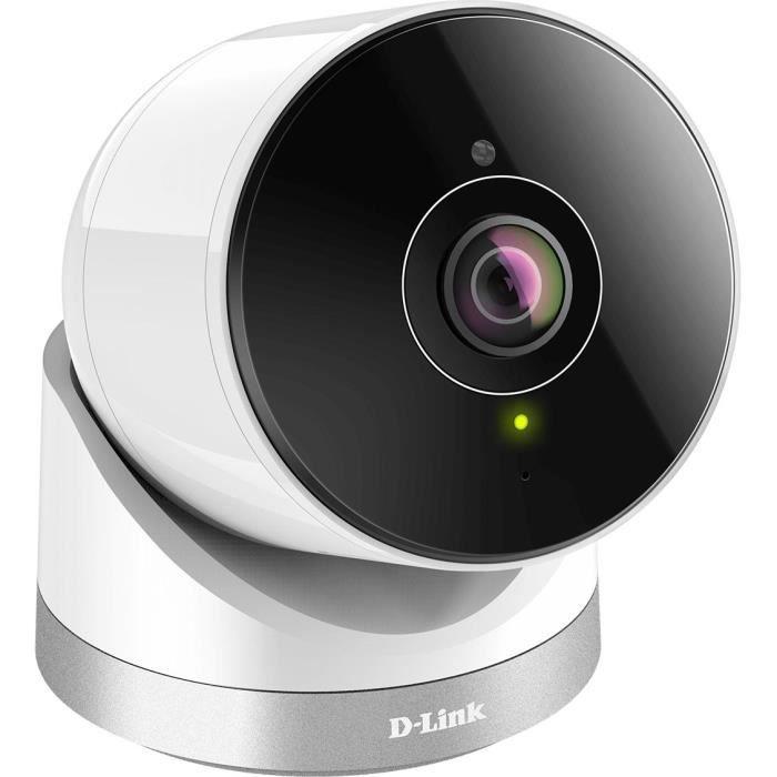 D-LINK Caméra Wi‑Fi d'extérieur à 180° Full HD
