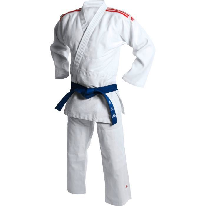 ADIDAS Kimono de Judo Club - Rouge