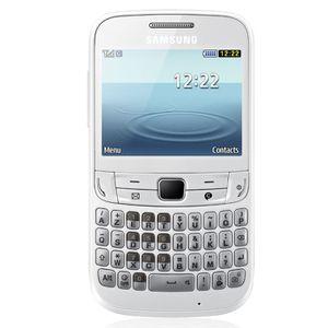 Téléphone GSM SAMSUNG CHAT 357 BLANC 30MO