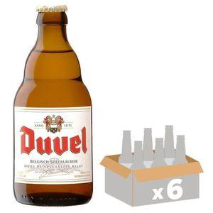 BIÈRE BRASSERIE DUVEL Bière Blonde - 33 cl x6 - 8,5 %