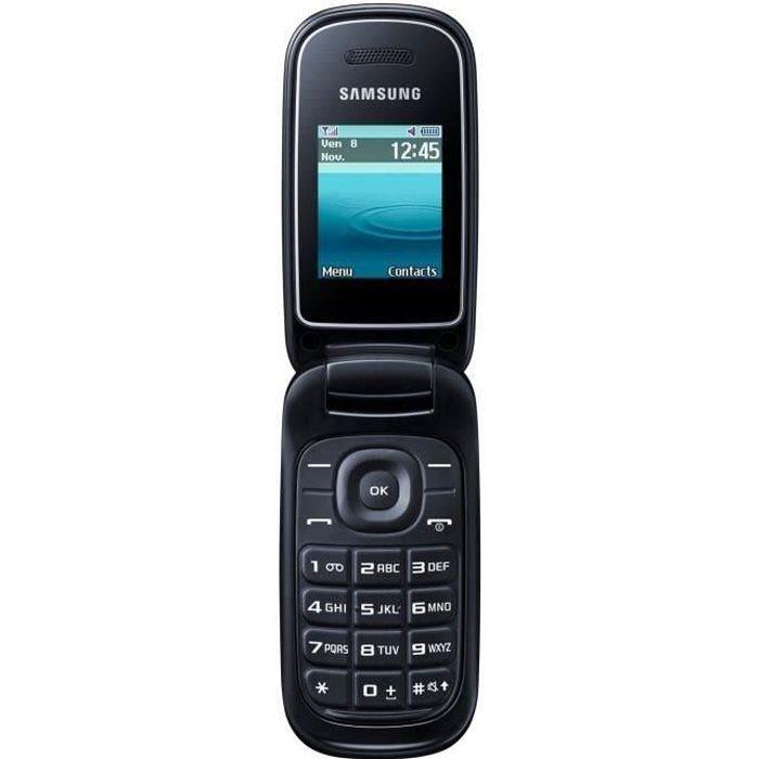 samsung galaxy e1270 noir achat t l phone portable pas cher avis et meilleur prix cdiscount. Black Bedroom Furniture Sets. Home Design Ideas