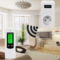 THERMOSTAT D'AMBIANCE Thermostat d'ambiance FLOUREON sans Fil Contrôleur