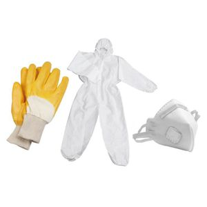 VÊTEMENT DE PROTECTION MEISTER Jeu de masque, gants et combinaison de tra