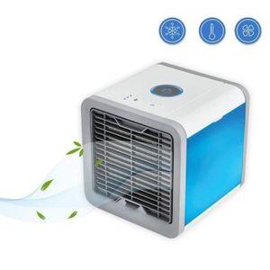 VENTILATEUR 3 en 1 Mini Climatiseur Humidificateur Refroidisse