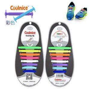 LACET  Lacet Elastique pour Chaussure Unisexe Adultes Col