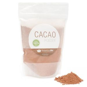 CACAO - CHOCOLAT Poudre de Cacao bio (300 grammes). Superfoodme.