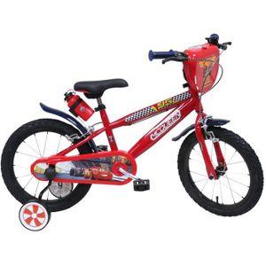 VÉLO ENFANT DISNEY Vélo enfant Garçon Cars - 16'' - Rouge