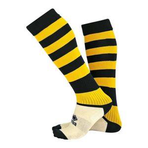 CHAUSSETTES FOOTBALL Chaussettes Montantes Errea Zone - noir-jaune - Ju
