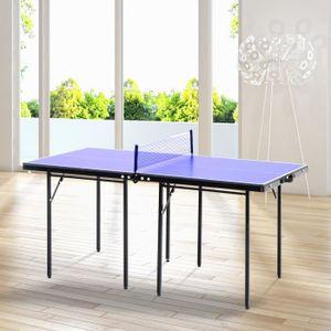 TABLE TENNIS DE TABLE Mini table de ping pong tennis de table pliable po